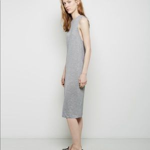 Acne Studios Corvina Gray Lyocell Dress XS